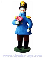 Офицер с цветком